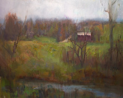 Devin Roberts - An Early Touch of Spring (plein air)