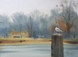 Sergei Kurbatov - Morning on the River