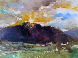 Beth Bathe - Old Rag Sunset
