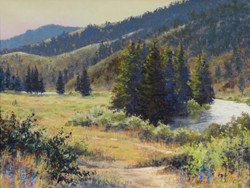Clark Mitchell - Late Spring Wandering (pastel)