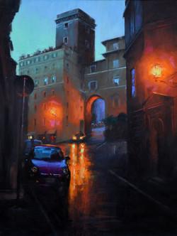 Gavin Glakas - Twilight in Rome (just behind the Forum of Augustus)