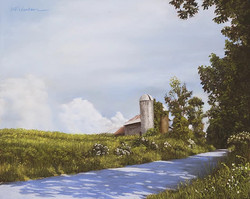 Marlene Wiedenbaum - Barn in May