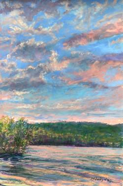 Susan Nicholas Gephart - Tranquil Sunset