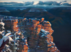 Christopher Reid - Grand Canyon View, Sunset