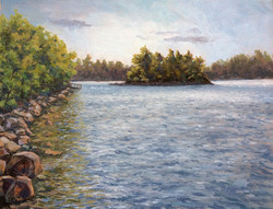 Dianna Anderson - Island at Damariscotta Lake