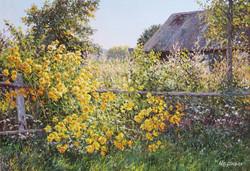 Tatyana Chernikh - Golden Flowers