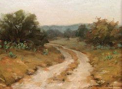 J.R. Cook - November in the Hill Country