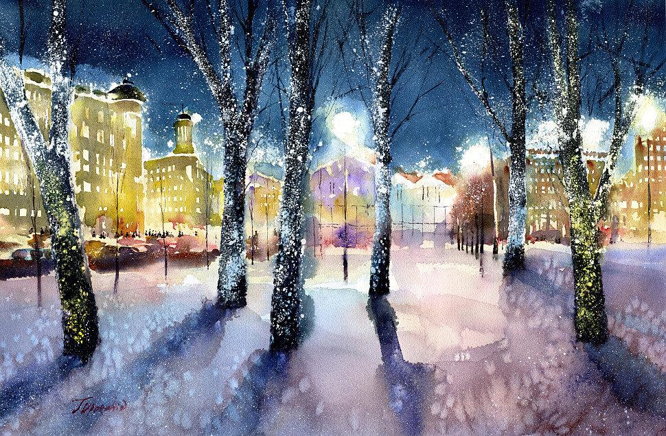 Vladimir Tuporshin - Pushkin Square