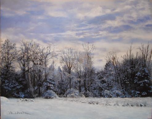 Marlene Wiedenbaum - Rock Hill Snow I