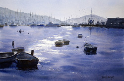 Joe Cartwright - Pittwater Row Boats