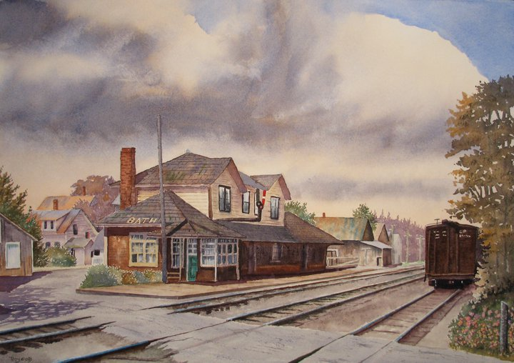 Roy Tibbits - Bath Station