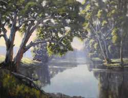 John Rice - Late Afternoon On The Cudgegong