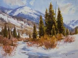 Mitch Baird - Winter Pines