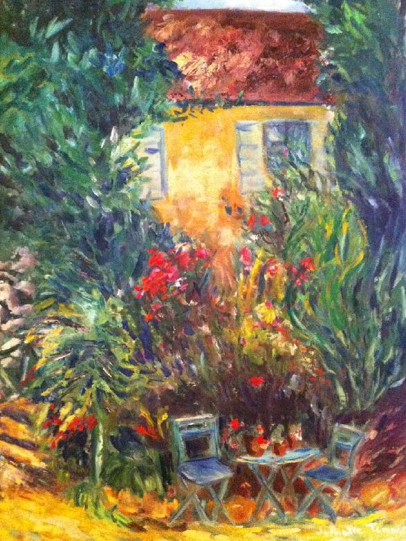 Julliette Tehrani - Baudy Musee Gardens at Giverny I