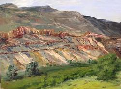 Nickie Barbee - Mesa View (plein air)