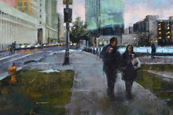 Desmond O'Hagan - Dusk, 13th Avenue, Denver