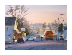 Andy Evansen - Bus Stop