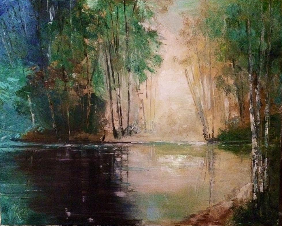 Kathy Fox Weinberg - Ruth's Pond