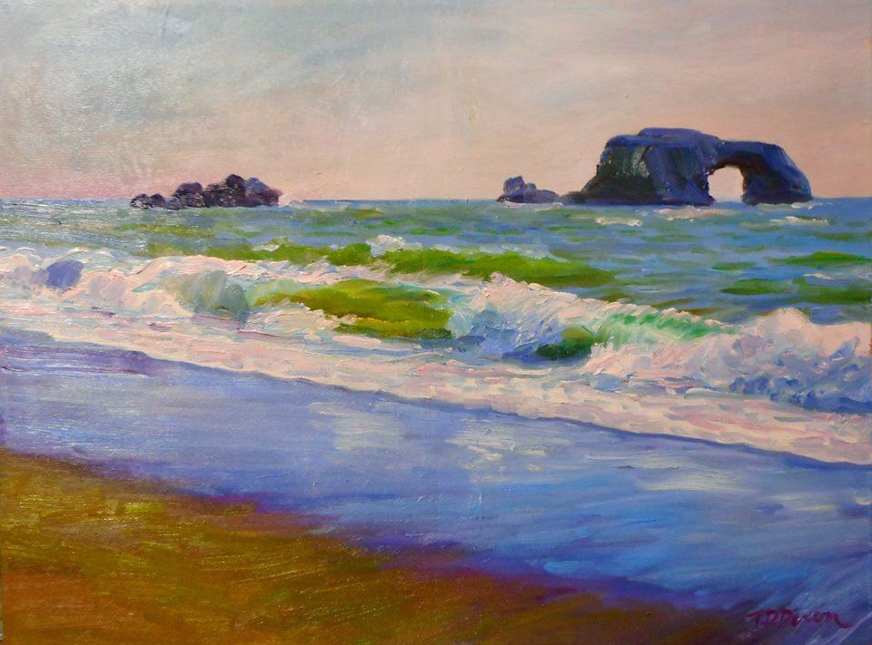 Timothy David Dixon - Arch Rock - Blind Beach