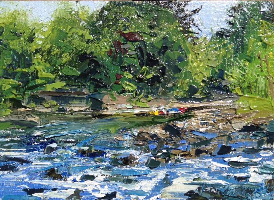 Kayti Didriksen - Rush Around the Bend. Saco River, Maine