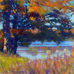Clarence A. Porter - Maple Shadows - Lake Reflections