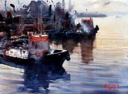 Alvaro Castagnet - Montevideo Port