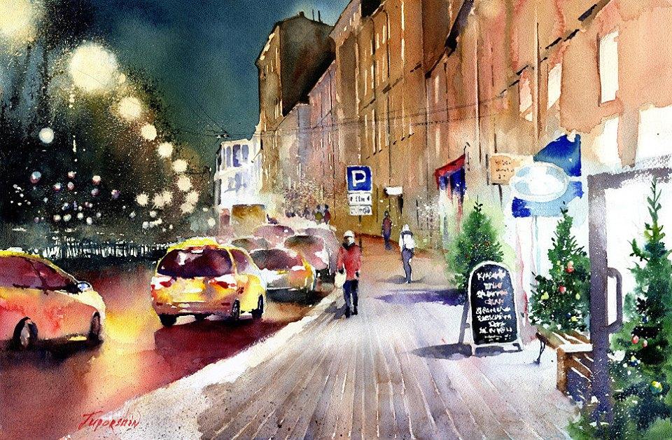 Vladimir N. Tuporshin - Christmas in Moscow
