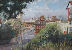 Mike Samson - View from Albion Gardens, Ramsgate