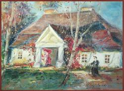 Monika Niżyńska - Cottage in Winter