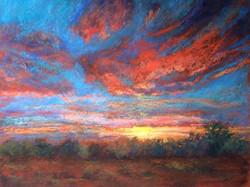 Suzanne Leslie - Arroyo Grande Sunset