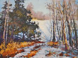 Linda Wilder - Winter At The Priddis Greens