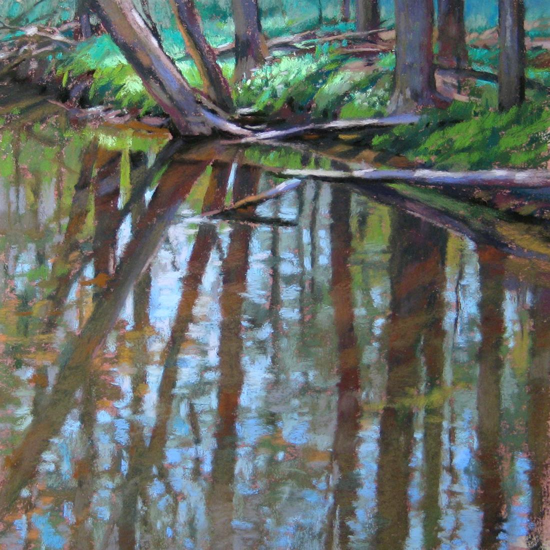 Jill Stefani Wagner - Reflected Woods