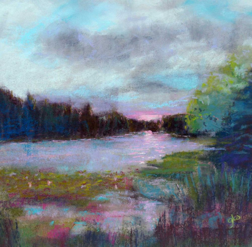 Ginny stocker - Early Morn at the Lake