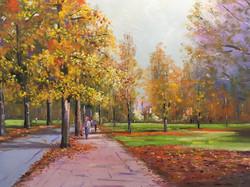 Mike Samson - Autumn at Hyde Park