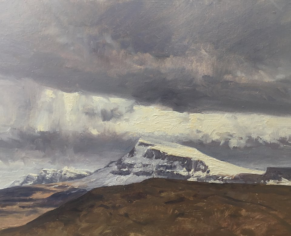 David Deamer - Snow on Beinn Edra
