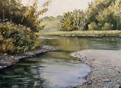 Claudia Artzmann - Summer at the River Thur