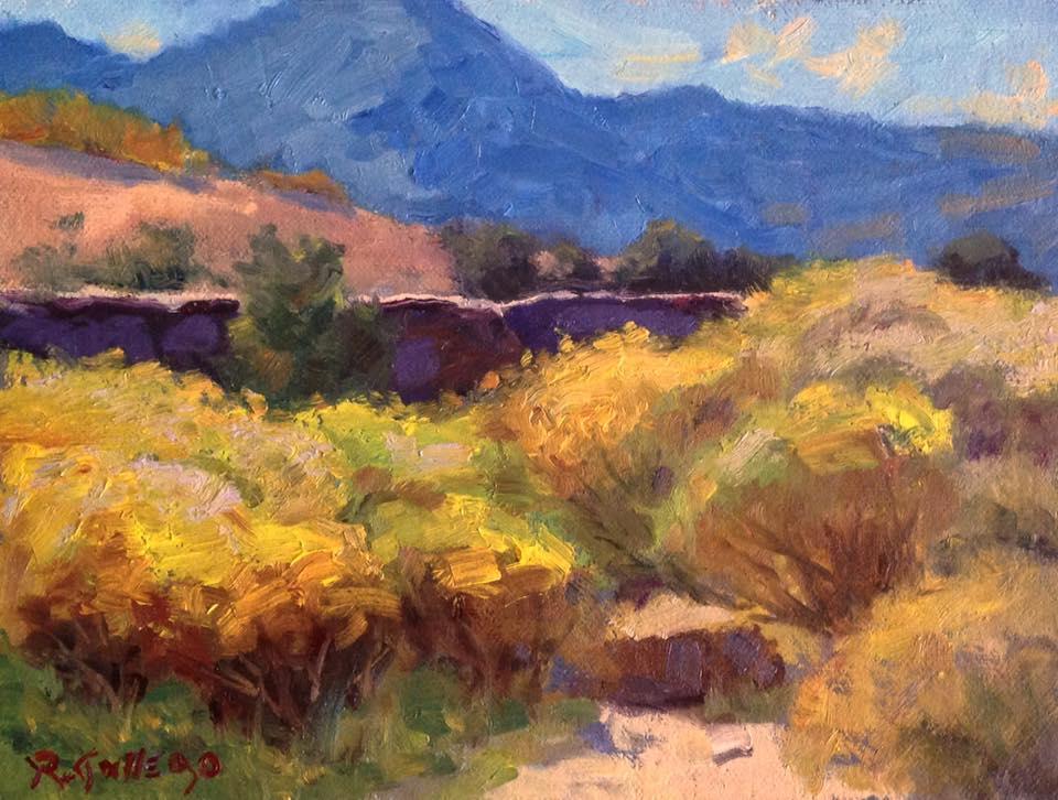 Richard E. Gallego - Rabbit Brush Trail #2