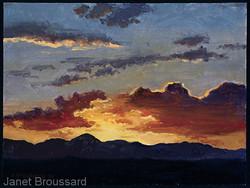 Janet Broussard - West Texas Sunset Study