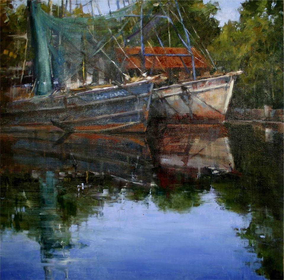 Fran Ellisor - Bayou South of Houma, Louisiana