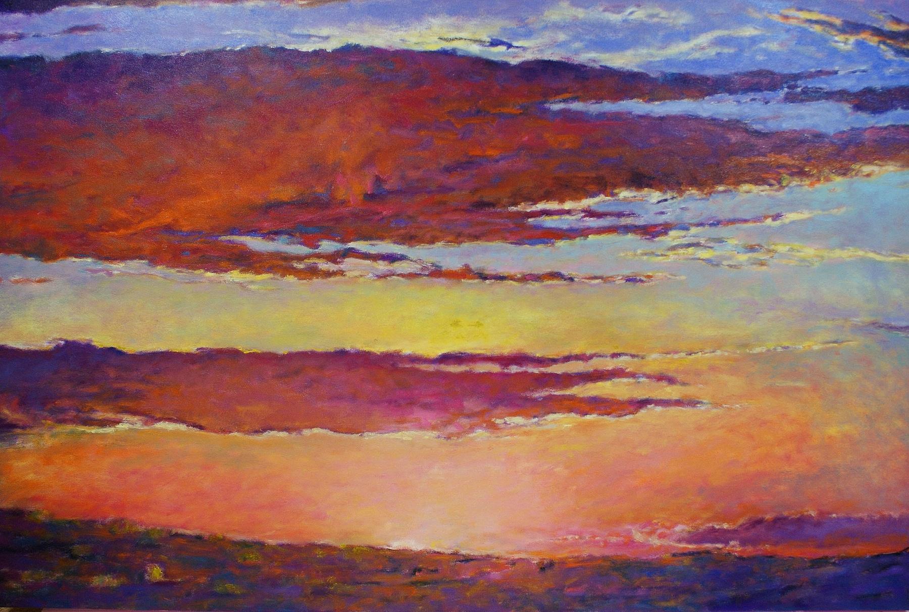 Ken Elliott - Sunset in Pinks and Orange II.jpg