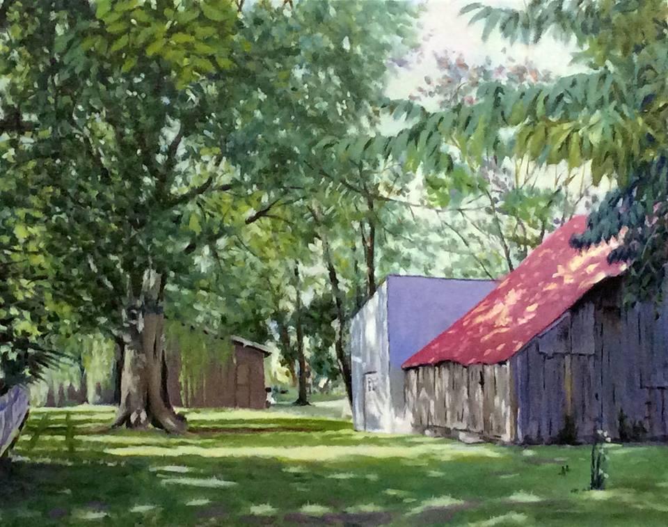 Daniel Fishback - New Harmony Barn in Indiana