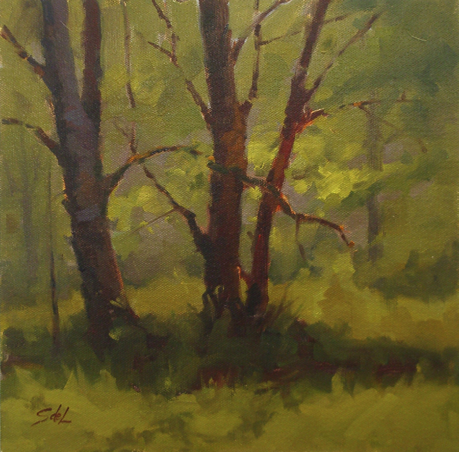 Suzanne deLesseps - Morning Glow (oil)
