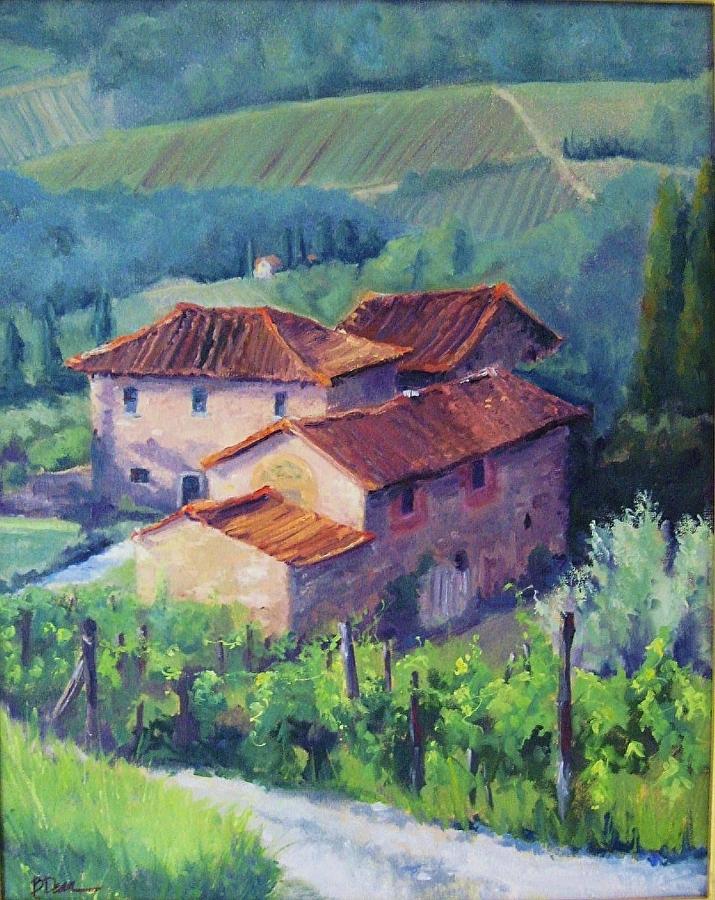 Beth Dean - Tuscan Farmhouse