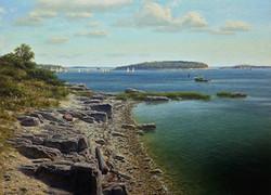 Joseph McGurl - The Boston Harbor Islands Project- Rainsford Island #1
