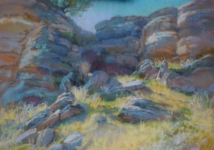 Christine Debrosky - Between a Rock and a Soft Place.jpg