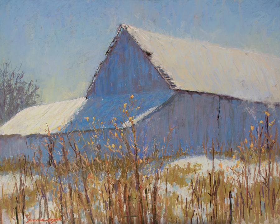 Carol Strock Wasson - Winter Barn