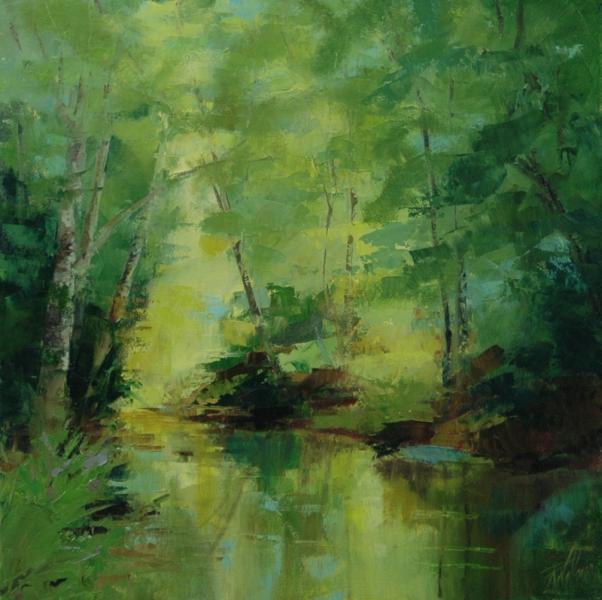 Robin Wellner - Sunlight on the Watauga