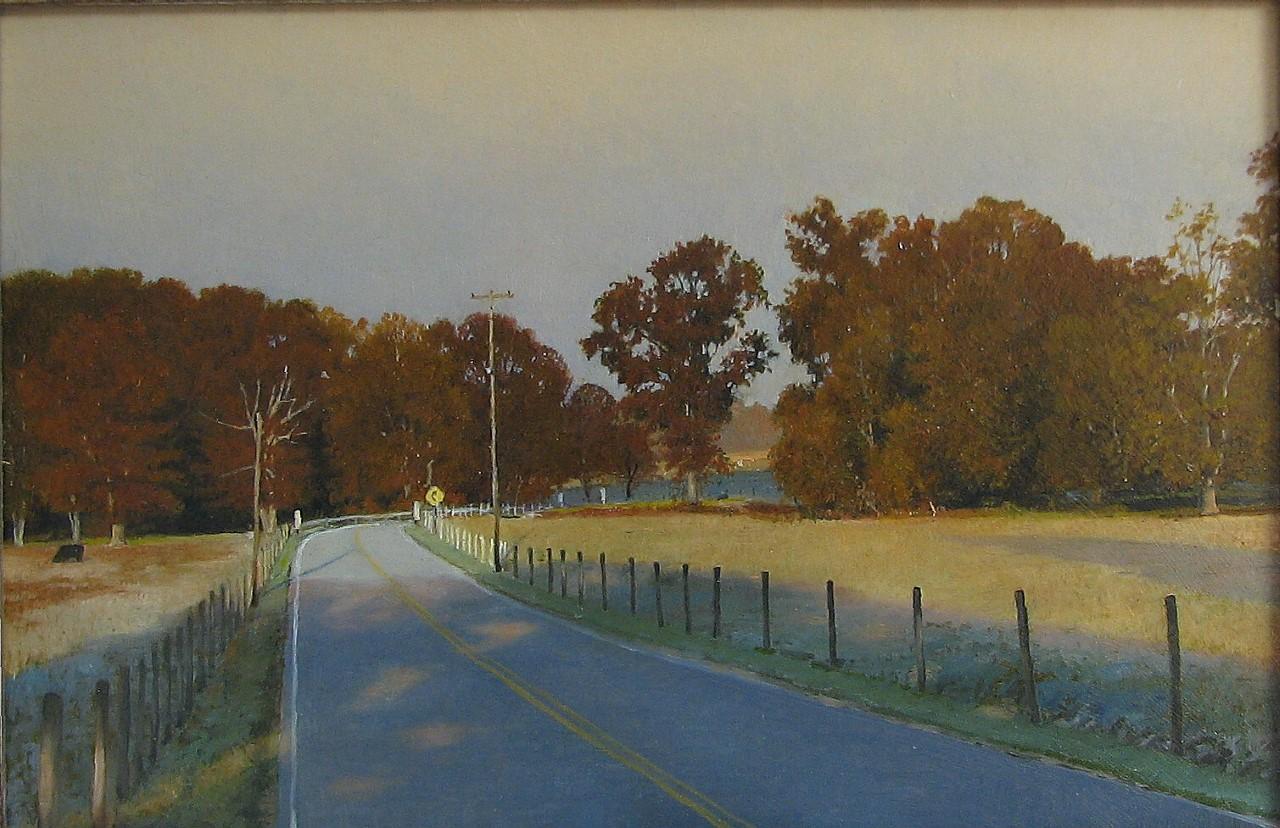 Paul W. Flury - Eckert Road in October