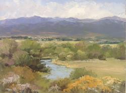 Bonnie Zahn Griffith - The Teton River