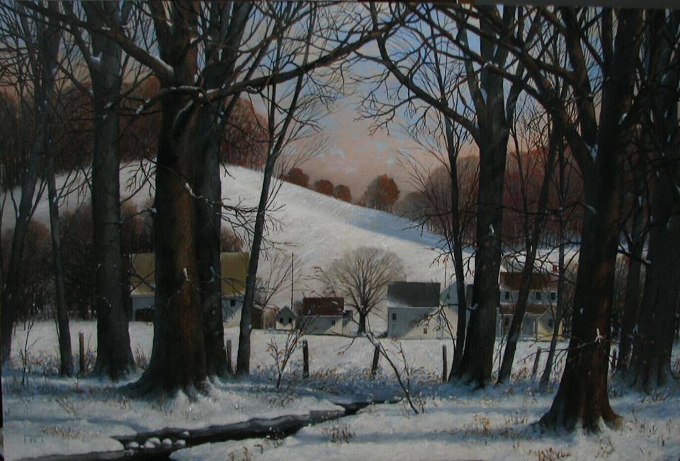 Paul Flury - First Snow